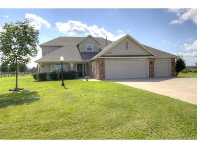 Collinsville Single Family Home For Sale: 14840 N 60th East Avenue