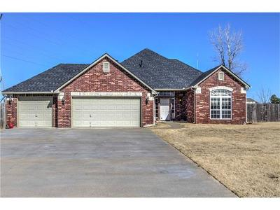 Collinsville Single Family Home For Sale: 16425 E 120th Street N