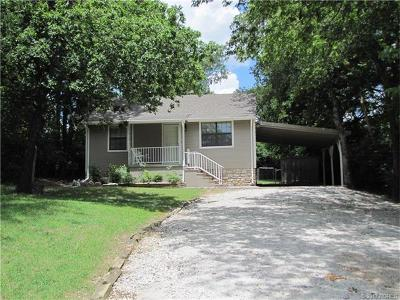 Ada OK Single Family Home For Sale: $89,000