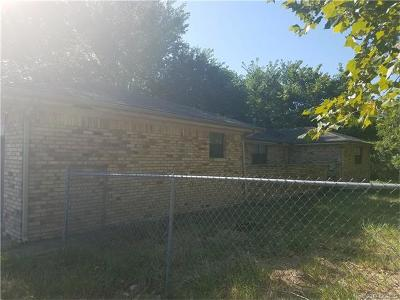 Ada OK Single Family Home For Sale: $115,000