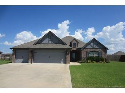 Collinsville Single Family Home For Sale: 14475 N 68th East Avenue