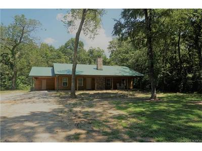Okmulgee Single Family Home For Sale: 19162 S 250 Road