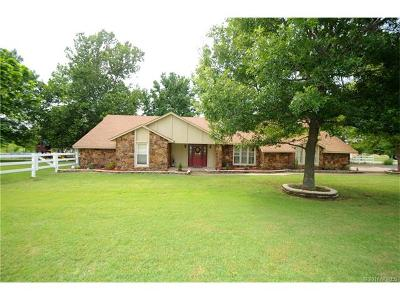 Claremore Single Family Home For Sale: 8388 E Browning Avenue