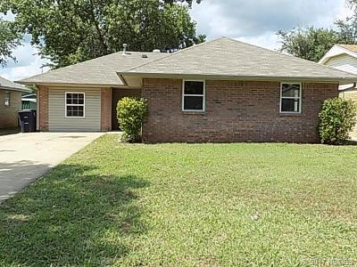 Shawnee OK Single Family Home For Sale: $85,000
