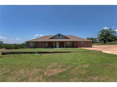 Sand Springs Single Family Home For Sale: 4237 New Prue Road