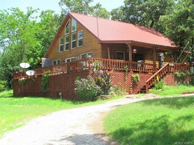 Cookson OK Single Family Home For Sale: $163,900