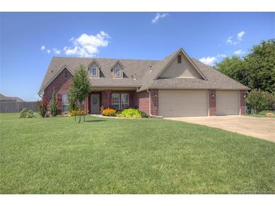 Collinsville Single Family Home For Sale: 5675 E 144th Street North