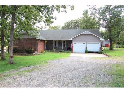 Hulbert OK Single Family Home For Sale: $127,900
