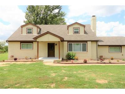 Coweta Single Family Home For Sale: 28474 E 121st Street S