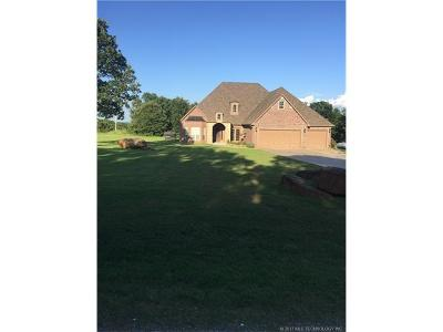 Skiatook Single Family Home For Sale: 15995 Cherokee Boulevard