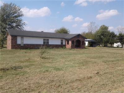 Collinsville Single Family Home For Sale: 17828 N 93rd East Avenue