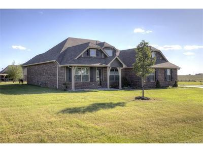 Collinsville Single Family Home For Sale: 5760 E 135th Street North