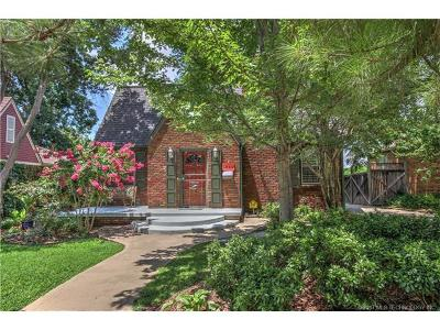 Tulsa Single Family Home For Sale: 1524 S Evanston Avenue