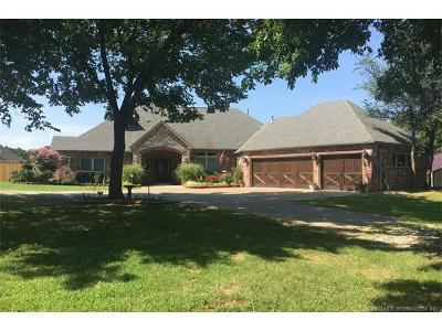 Broken Arrow Single Family Home For Sale: 26650 E 61st Street S