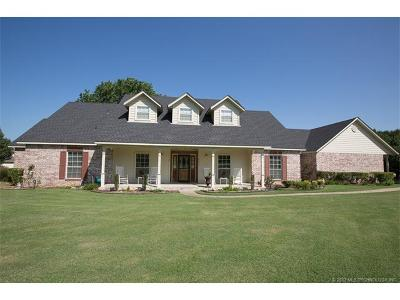 Owasso Single Family Home For Sale: 8416 N 159th East Court