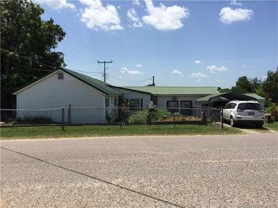 Ada OK Single Family Home For Sale: $79,900