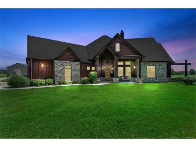 Coweta Single Family Home For Sale: 35423 E 97th Place S