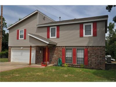 Sapulpa Single Family Home For Sale: 3015 Frontier Road