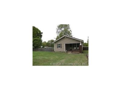 Ada OK Single Family Home For Sale: $82,000