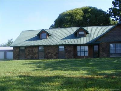 Tahlequah OK Single Family Home For Sale: $159,900