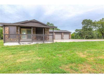 Collinsville Single Family Home For Sale: 17707 N 129th East Avenue