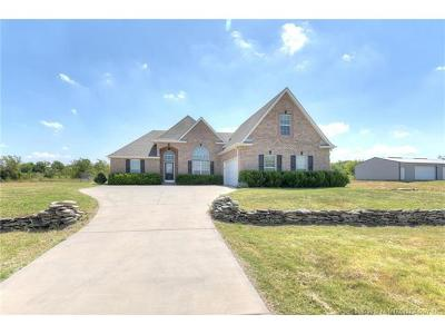 Collinsville Single Family Home For Sale: 13235 E Hobbs Creek Drive