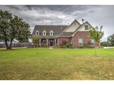 Sand Springs Single Family Home For Sale: 18355 W 35th Street S