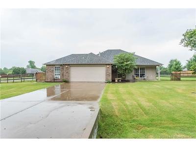 Owasso Single Family Home For Sale: 8928 E 105th Street N