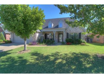Jenks Single Family Home For Sale: 12007 S Vine Street