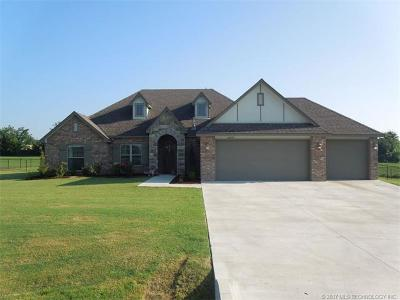 Claremore Single Family Home For Sale: 14673 Eagle Drive