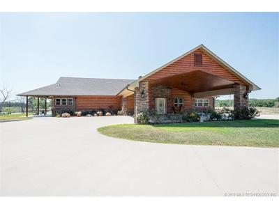 Hulbert OK Single Family Home For Sale: $975,000