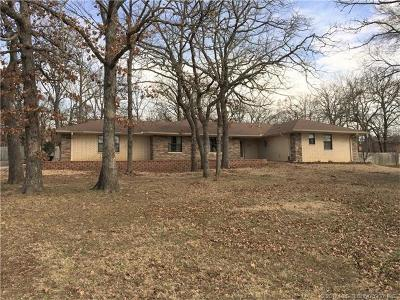 Ada OK Single Family Home For Sale: $145,000