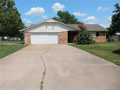 Sapulpa Single Family Home For Sale: 6995 S 153rd West Avenue
