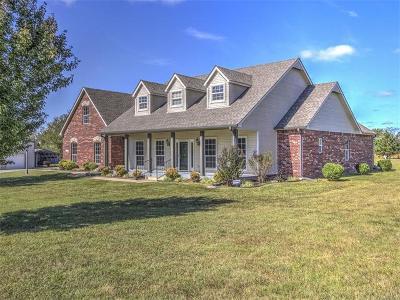 Catoosa Single Family Home For Sale: 27211 E 21st Street