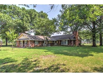 Bixby OK Single Family Home For Sale: $185,000