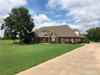 Claremore Single Family Home For Sale: 6455 E 490 Road