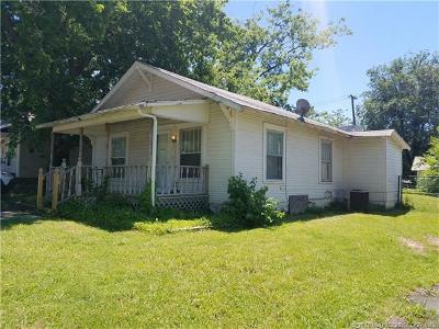 Sapulpa Single Family Home For Sale: 1126 E Moman Avenue
