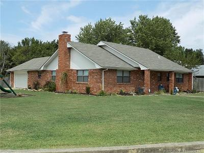 Holdenville OK Single Family Home For Sale: $134,900