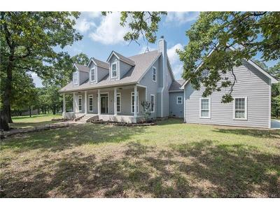 Skiatook Single Family Home For Sale: 5109 W 165th Street North