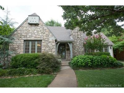 Tulsa Single Family Home For Sale: 1711 S Delaware Place
