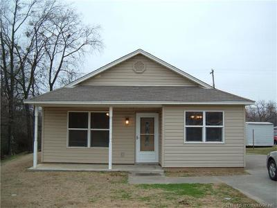 Sapulpa OK Single Family Home For Sale: $92,000