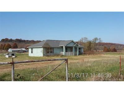 Claremore Single Family Home For Sale: 11510 S 4210 Road