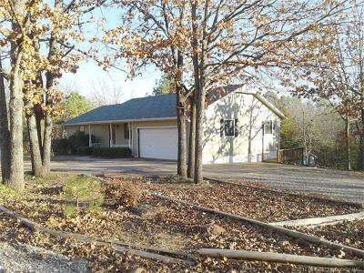 Cookson OK Single Family Home For Sale: $168,000