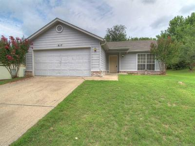 Sand Springs Single Family Home For Sale: 617 W 8th Street