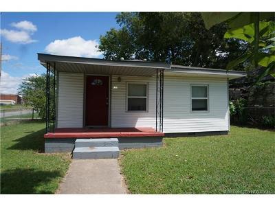 Okmulgee Single Family Home For Sale: 133 N Bryan Street