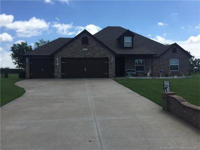 Collinsville Single Family Home For Sale: 14431 N 72nd East Avenue
