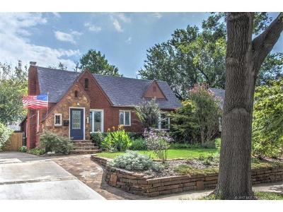 Tulsa Single Family Home For Sale: 1739 S Gary Avenue