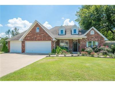 Owasso Single Family Home For Sale: 8816 E 104th Place N