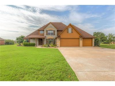 Claremore Single Family Home For Sale: 8210 Overlook Trail