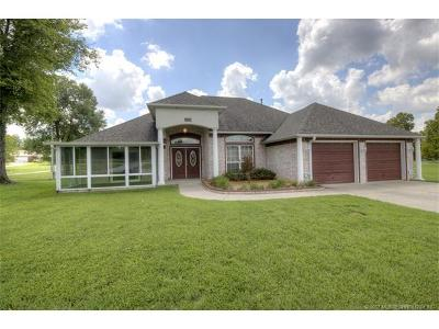 Owasso Single Family Home For Sale: 17210 E 116th Street N